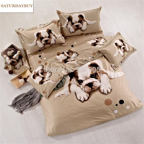 dog bedding set cute dog print bedding designer dog comforter sets lovely 3d dog duvet cover unique