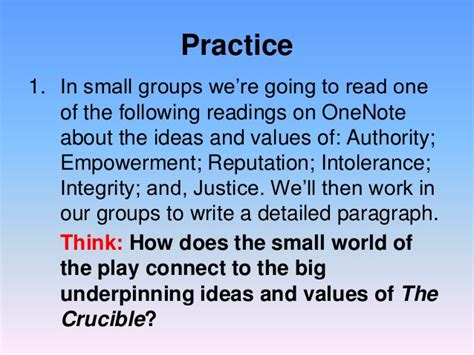 themes of religion in the crucible theme lesson