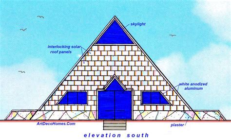 pyramid house design pyramid house plan design architizer