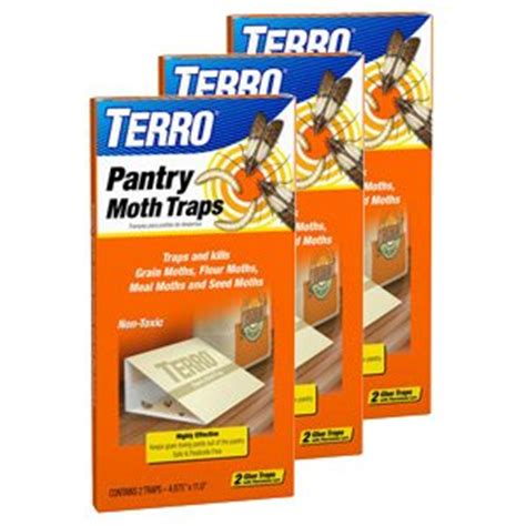 Pantry Pest Moth Traps by Terro 2900 Pantry Moth Trap 2 Traps 3 Pack