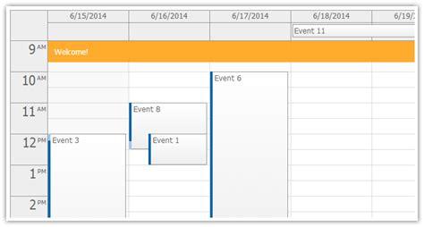 Asp Calendar Daypilot Html5 Calendar Scheduler And Gantt Chart Web