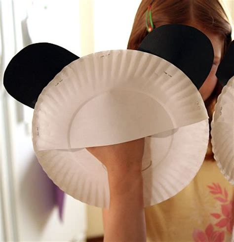 How To Make A Paper Plate Puppet - 25 best ideas about panda craft on panda