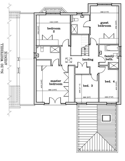 Floor Plan Lay Out by Mead Estates Ltd 32 Whitehill Avenue Luton Floor Plans