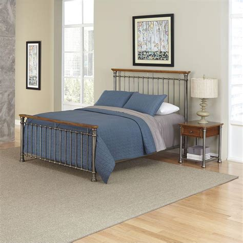 orleans bedroom set home styles orleans 2 piece caramel queen bedroom set 5061