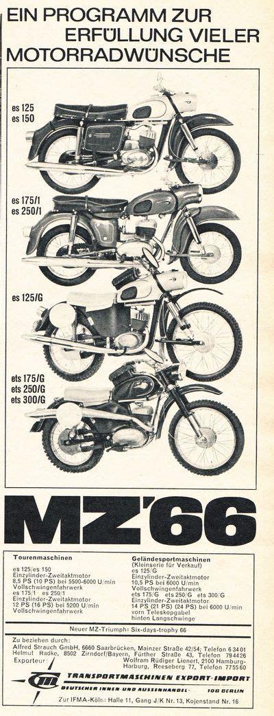 Motorrad 125 Ccm Einfahren by Mz Es 125 G Bj 1964 Enduro Klassik De