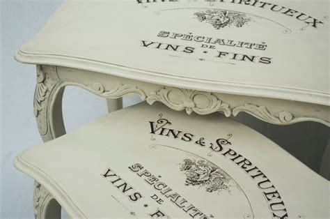 Shabby Chic Decals Water Decal Print Transfer Vins Spiritueux Vintage