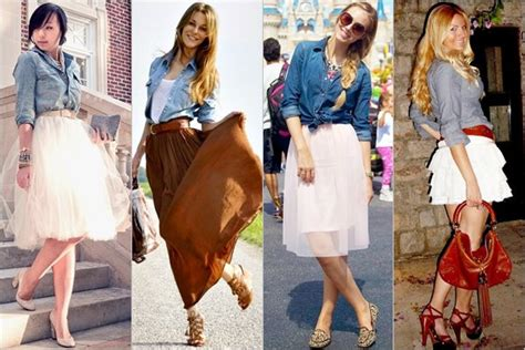 Etnick Plain White how to fashion denim shirts on different occasions part 1