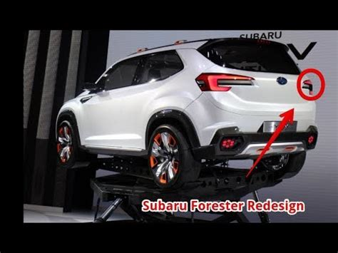 subaru forester redesign youtube