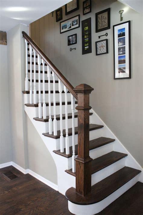 banister remodel ideas  pinterest staircase