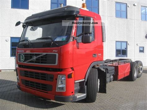 volvo fm9 specifications volvo fm9 2006 chassis truck photo and specs