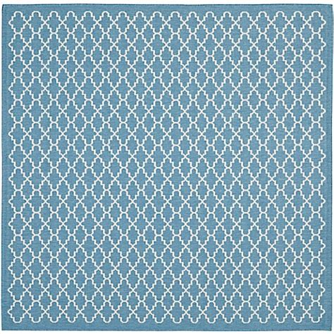 10 foot square blue rug buy safavieh courtyard 7 foot 10 inch square indoor