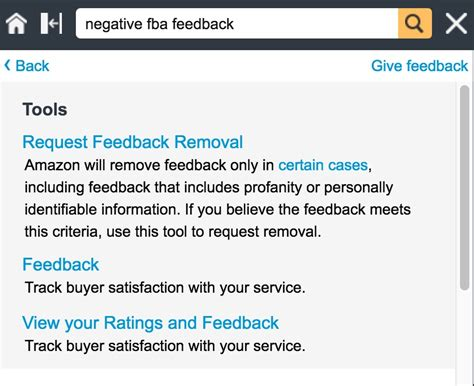 remove negative feedback amazon fba how to get negative fba feedback removed turns out it s a