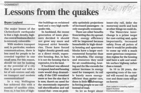 Newspaper Report Writing On Earthquake In Gujarat by Newspaper Articles Bryan Leyland Consulting Engineer