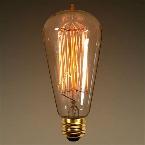 edison style light bulbs antique light edison style amber glass