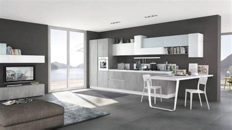 soluzioni coordinate  cucina soggiorno colore torino