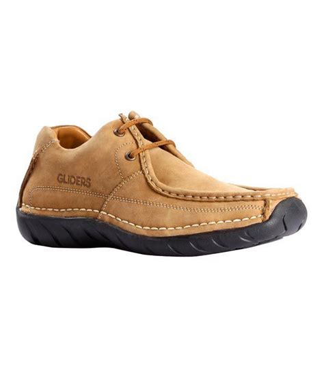 liberty gliders camel leather shoes price in india buy