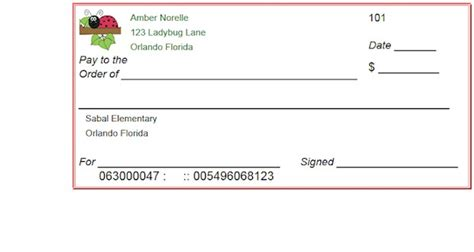 Fake Blank Checks Pay Stub For Kids Autos Weblog Blank Check Template Pdf