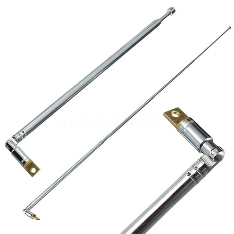channel am fm radio telescopic antenna replacement 63cm length 4 sections ebay
