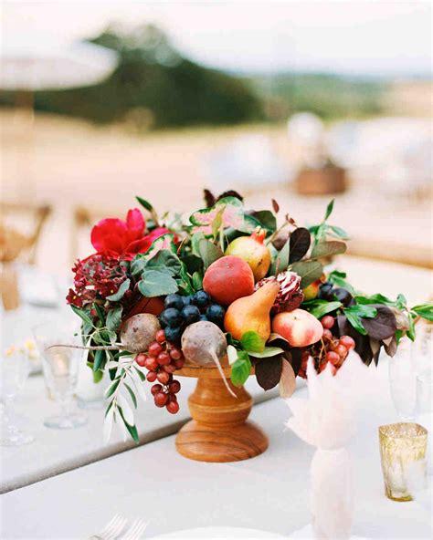 fruit centerpieces for tables 58 genius fall wedding ideas martha stewart weddings