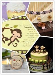 monkey decorations for baby shower monkey themed baby shower ideas monkey theme baby shower invitations favors