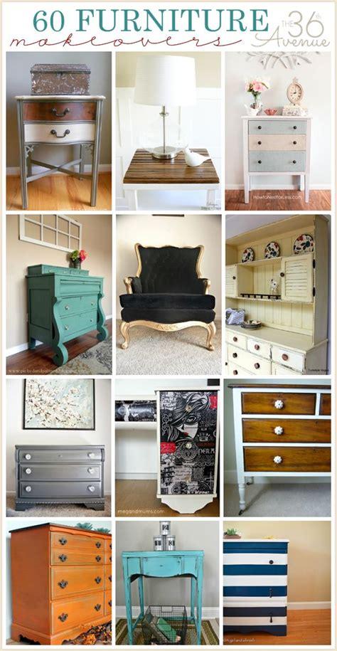 furniture makeovers 60 diy furniture makeovers