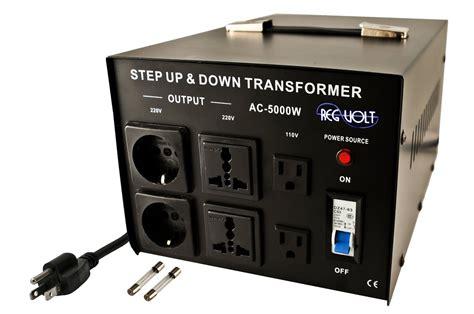 step up voltage converter regvolt ac 5000 step up voltage converter transformer