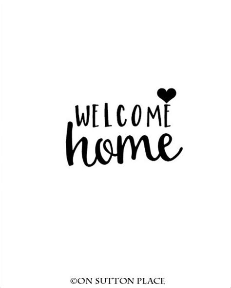 free greeting card template welcome home curious and cozy