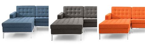 tufted chaise settee tufted chaise sofa soho tufted sectionals rh thesofa