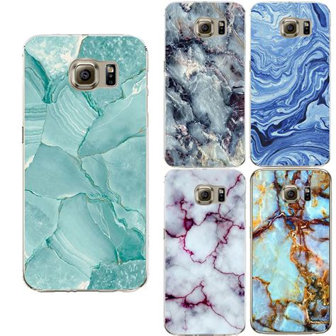 Marble Colorfull Blue Samsung Galaxy S4 Casing Cover Hardcase marble image coque for samsung galaxy s3 s4 s5 s6 s7 edge j5 a3 a5 2016 grand prime