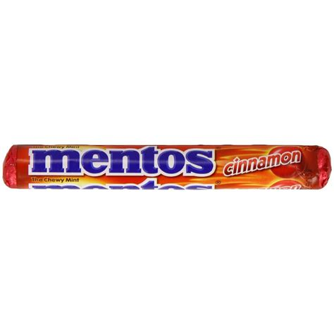 mentos cinnamon 1 32 ounce rolls pack of 30