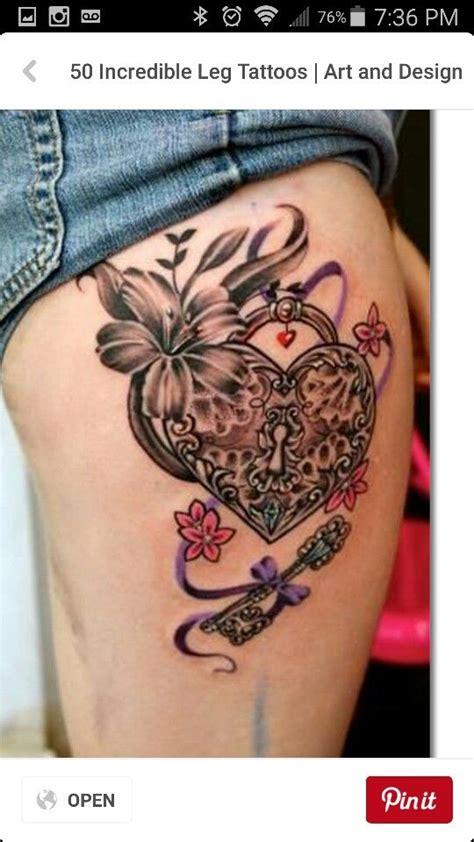 pi 249 di 25 fantastiche idee su tatuaggio di lucchetto cuore