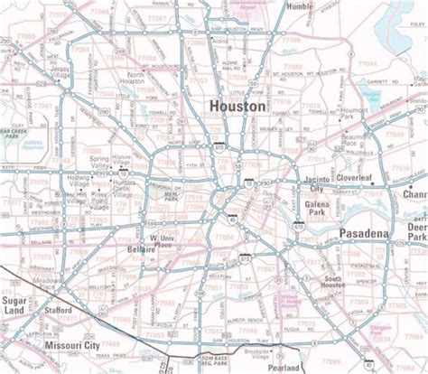 map of houston texas zip codes maps zip code map houston