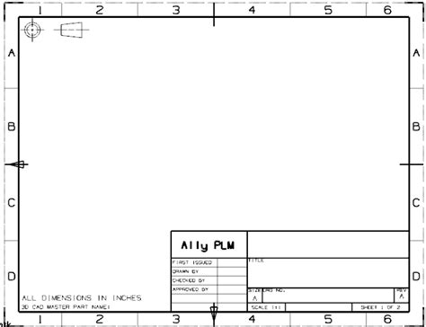 download layout templates autocad how to create a drawing template and add to nx 7 5