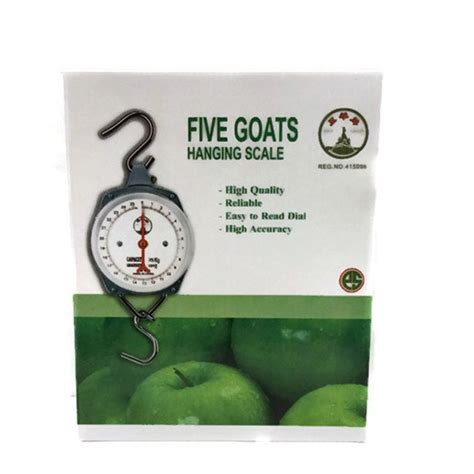 Jual Five Goats Timbangan mainan gantung untuk bayi 2 bulan dhian toys