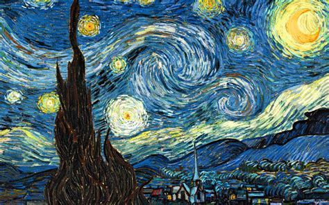 the vincent van gogh starry night vincent van gogh wallpaper 32645