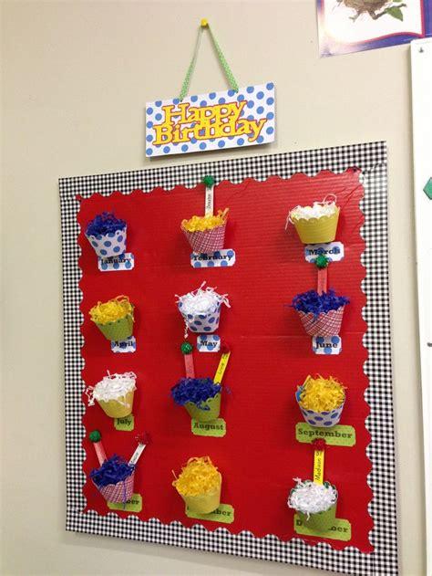 Nursery Classroom Decoration 12 Best Birthdays Images On Pinterest Birthdays Classroom Decor And Preschool