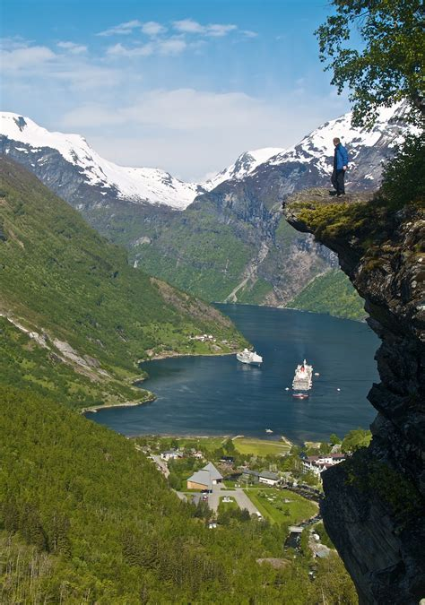 fjord erosion life around us geirangerfjord norway amazing places