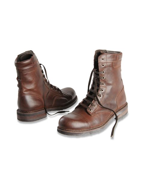 diesel butch cassidy boots in brown for lyst
