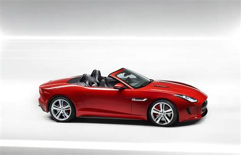 jaguar reveals all new f type in a two seater