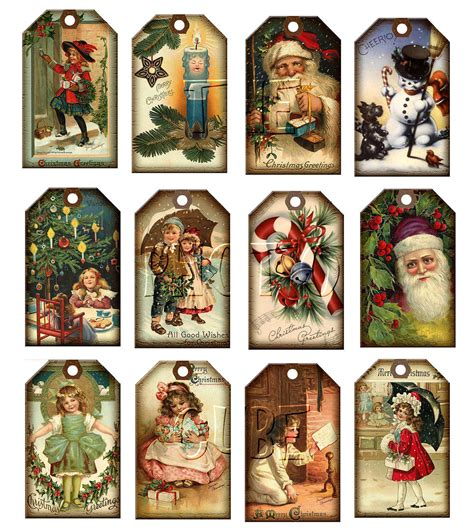 search results for vintage christmas gift tag printables