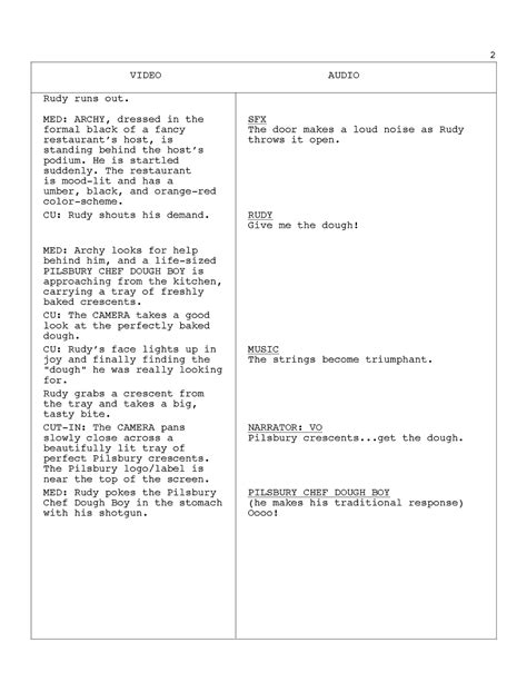 tv commercial script template archives rutorscape