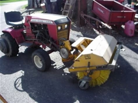 homemade tractor sweeper attachment homemadetoolsnet