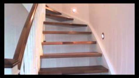 Treppenstufen Grau Lackieren by Eingestemmte Treppe In Wei 223 Lackiert Mit Nu 223 Baumstufen