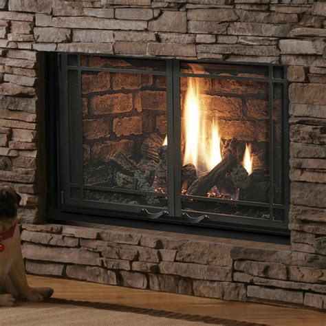 Kingsman Gas Fireplace kingsman hbzdv3624 direct vent fireplace
