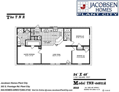 100 jacobsen manufactured homes floor plans ocala
