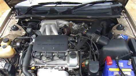 how cars engines work 1996 toyota avalon spare parts catalogs toyota camry vienta vxi economical 3 0 litre v6 auto youtube
