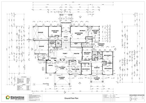 working drawing floor plan working drawings elementree drafting services