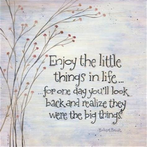 little things enjoy the little things quotes a day