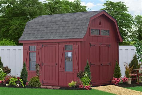 Outdoor Garages And Sheds by Outdoor Barns And Sheds For The Backyard Amish Built Sheds