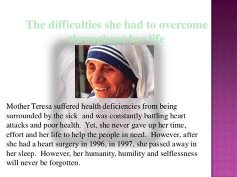 mother teresa biography in english mother teresa
